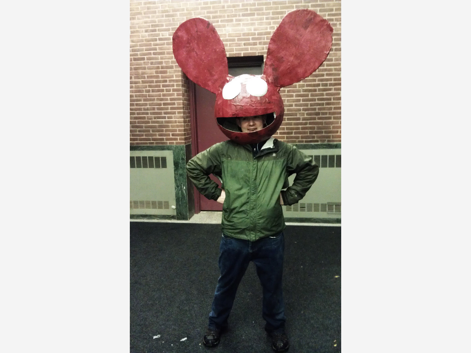 deadmau5 helmet on halloween